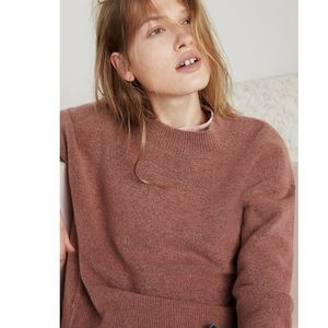Madewell Dusty Rose Connections Sweater